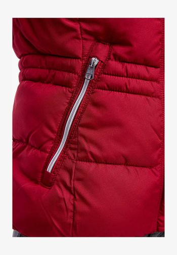 Winter jacket - brick red