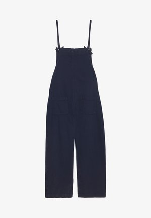 MONA DUNGAREES - Snekkerbukse - blue medium dusty