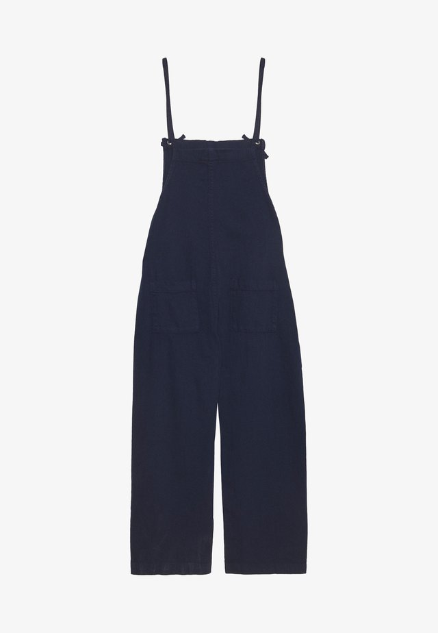MONA DUNGAREES - Latzhose - blue medium dusty