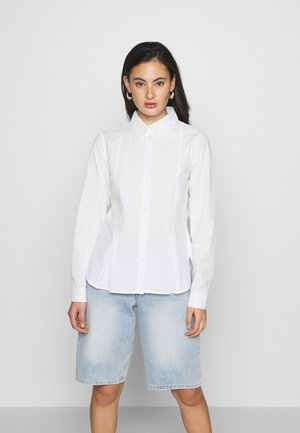STEPHANIE DURANT X NA-KD - Button-down blouse - white