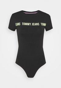 TAPE BODY SHORTSLEEVE - Print T-shirt - black