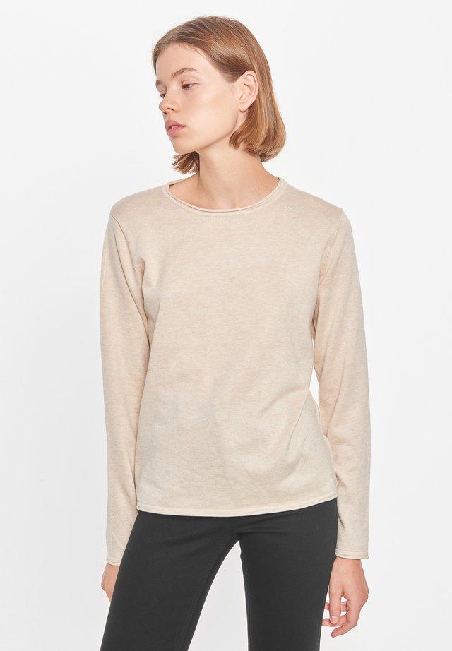 Sweter - whitecap gray
