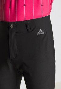 adidas Golf - ULTIMATE SPORTS GOLF PANTS - Kalhoty - black - 3