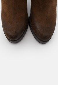 Steven New York - NANSAM - High heeled boots - brown - 5