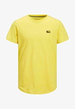 SLIM FIT - T-Shirt print - yellow