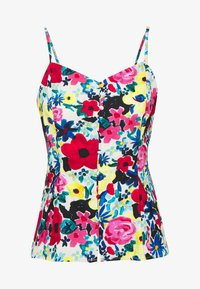 NA-KD - THIN STRAP FLOWY SINGLET - Bluser - multi-coloured - 4