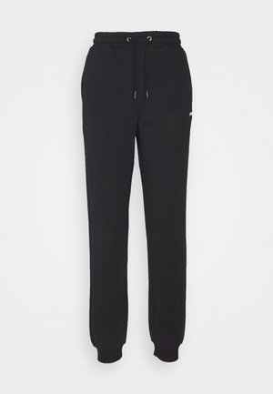 EDENA HIGH WAIST PANTS - Tracksuit bottoms - black