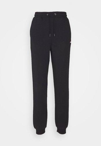 EDENA HIGH WAIST PANTS - Pantalones deportivos - black