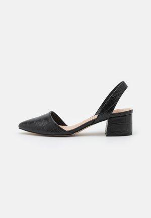 CLARRISSA - Sandały - black