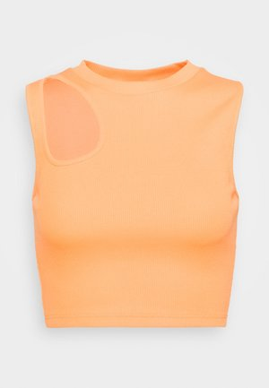 SLVLESS CUT OUT - Top - orange