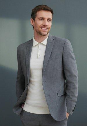 SIGNATURE MOTIONFLEX PUPPYTOOTH  - Suit jacket - grey