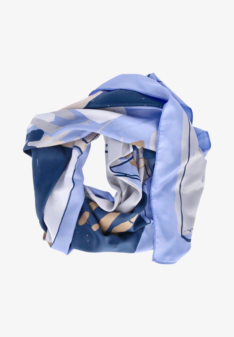 Opus - Scarf - blau kombi