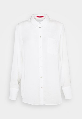 LANGARM - Button-down blouse - off-white