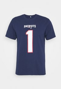 Fanatics - NFL CAM NEWTON NEW ENGLAND PATRIOTS ICONIC NAME & NUMBER GRAPHIC - Club wear - navy - 4