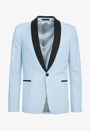 EVENING JACKET - Suit jacket - light blue