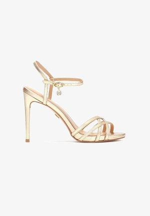 LAZURITE  - High heeled sandals - gold