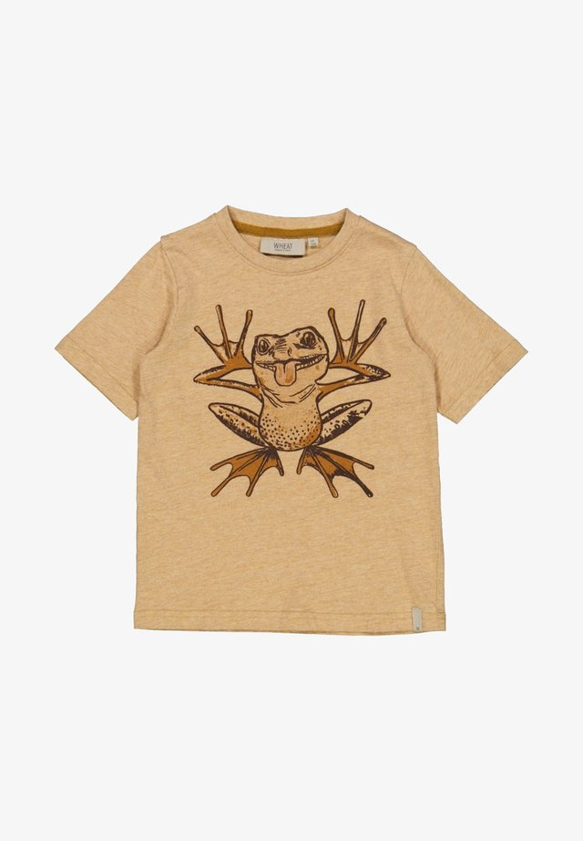 T-shirt print - warm melange