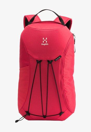Hiking rucksack - scarlet red