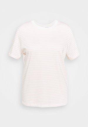 SLFPERFECT TEE BOX - T-shirts med print - primrose pink