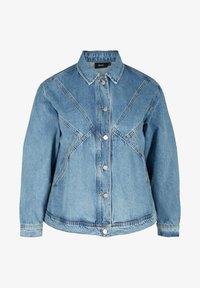 Zizzi - Denim jacket - light blue - 3