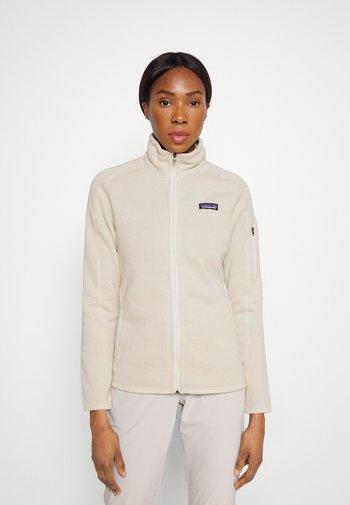 BETTER SWEATER - Fleece jacket - oyster white