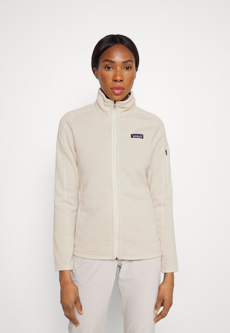 Patagonia - BETTER SWEATER - Fleece jacket - oyster white