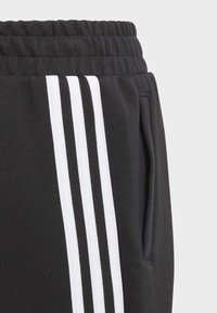 adidas Performance - 3 STRIPES ATHLETICS SPORTS REGULAR PANTS - Spodnie treningowe - black - 7