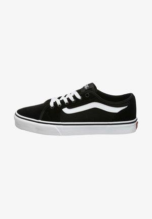 FILMORE DECON - Sneakers basse - suede/canvas black/white