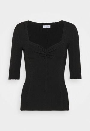 MINILI - Basic T-shirt - noir