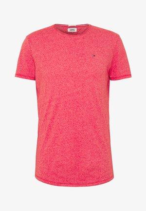 ESSENTIAL JASPE TEE - Basic T-shirt - racing red