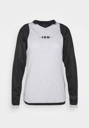 TEE SCRUB - Long sleeved top - black