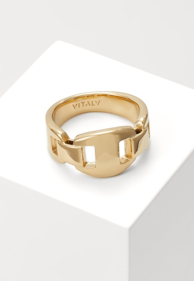 APEX UNISEX - Ring - gold-coloured