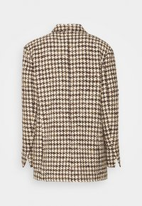 sandro - Short coat - marron/beige - 8