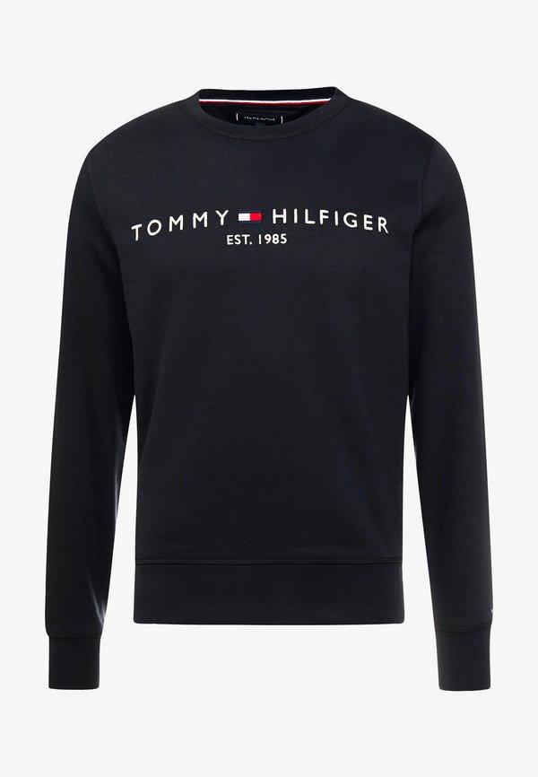 Tommy Hilfiger LOGO - Bluza - black/czarny Odzież Męska XUIV