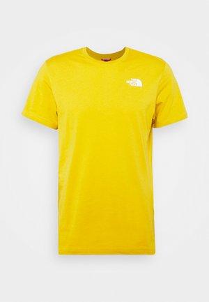 REDBOX TEE - T-Shirt print - arrowwood yellow