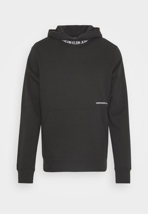 SUBTLE INSTITUTIONAL LOGO HOODIE - Felpa con cappuccio - black