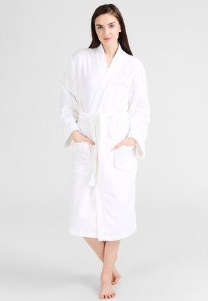 KIMONO BATHROBE - Badjas - white