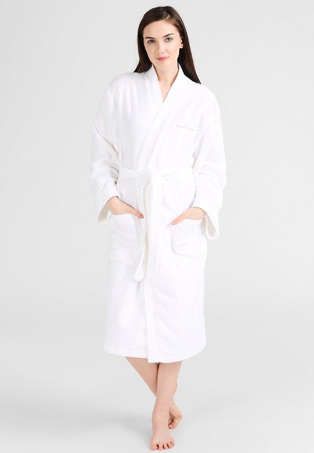 KIMONO BATHROBE - Peignoir - white