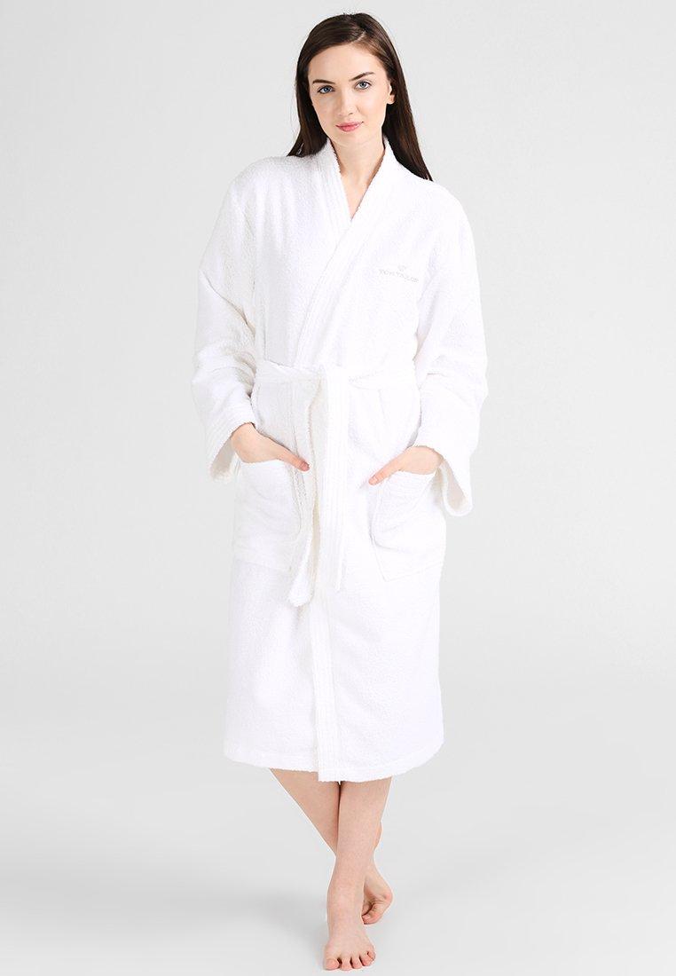 TOM TAILOR - BASIC KIMONO - Dressing gown - white