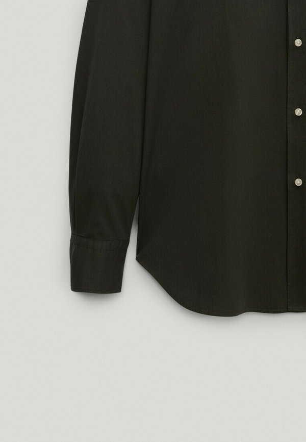 Massimo Dutti SLIM FIT - Koszula - green/ciemnozielony Odzież Męska JMPR