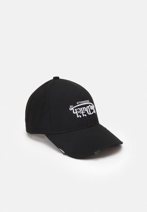 DAD BASEBALL UPSIDE DOWN LOGO UNISEX - Cappellino - black