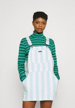 REX OVERALL DRESS - Denimové šaty - china blue