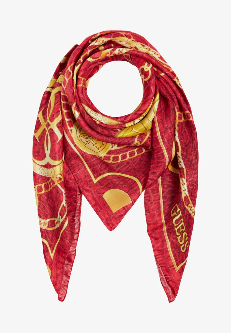Guess - CORILY KETTEN - Scarf - rot