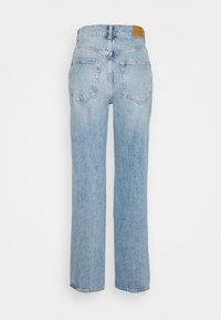 Gina Tricot - HIGH WAIST - Jeans relaxed fit - blue destroy - 1