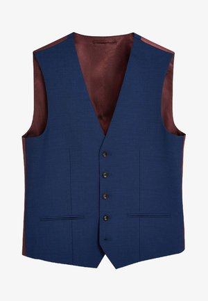 SIGNATURE PLAIN SUIT: WAISTCOAT - Suit waistcoat - royal blue