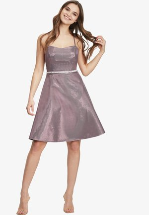 Cocktail dress / Party dress - rose/silver