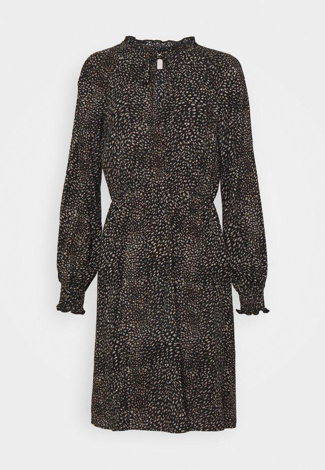 PCMELISA DRESS  - Korte jurk - black