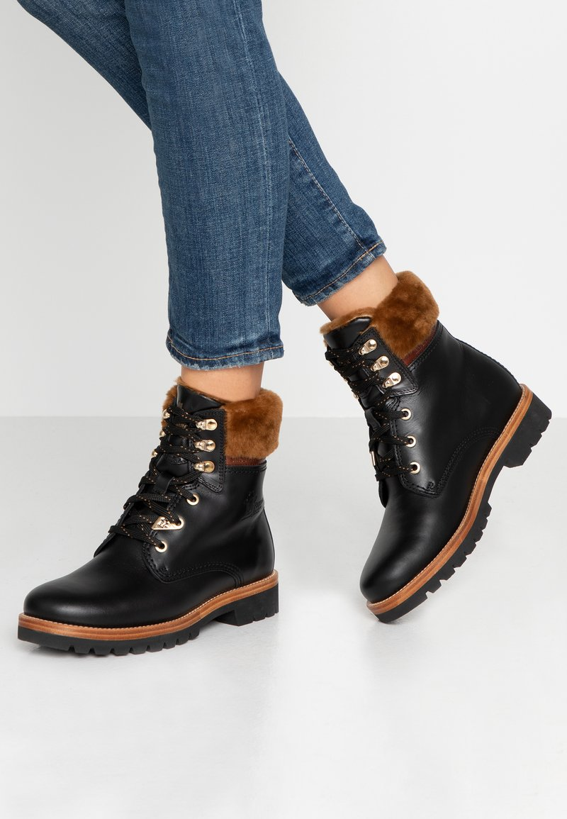 Panama Jack - PANAMA IGLOO BROOKLYN - Lace-up ankle boots - black