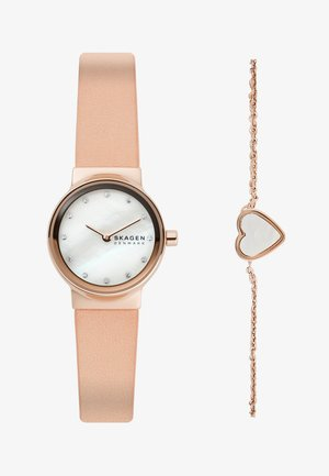 FREJA SET - Watch - pink