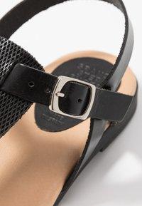 Grand Step Shoes - FLORA - T-bar sandals - black - 2